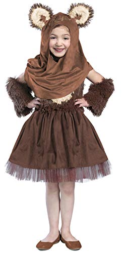 Princess Paradise Classic Star Wars Wicket Dress Costume, X-Small -