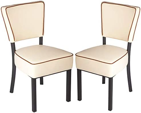 Deal of the week: KARMAS PRODUCT Set of 2 Upholstered Dining Chairs