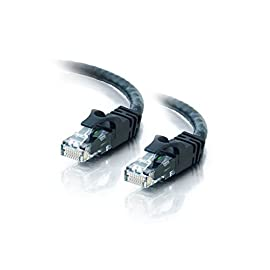 Cat6 50FT Networking RJ45 Ethernet Patch Cable Xbox  PC  Modem  PS4  Router- (50 Feet) Black 65 -Cat6 - 4 Stranded UTP (Unshielded Twisted Pair) - CCA -Meets all Cat6 TIA/EIA-568-B-2.1, draft 9 standards -Certified Transfer Rate: 10/100/1000 mbps (1000Base-T Gigabit)