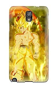 4823402K63597992 Galaxy Note 3 Super Saiyan Goku Tpu Silicone Gel Case Cover. Fits Galaxy Note 3