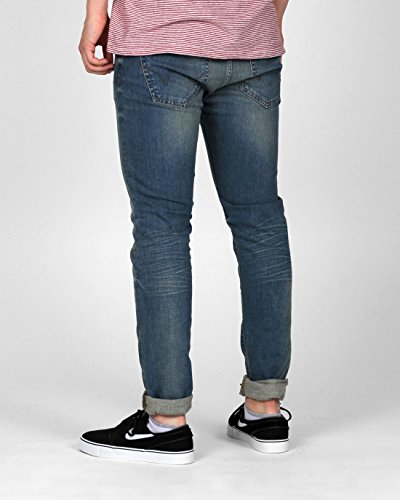 Edwin ED-85 Slim Tapered Low Crotch CS Compact Blue Denim 12,5 Oz
