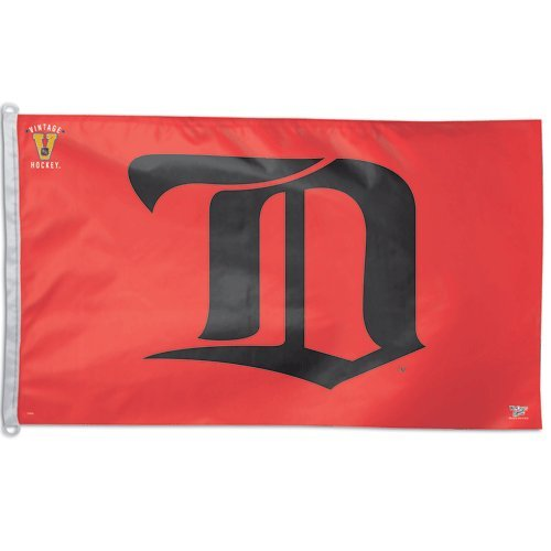 Detroit Red Wings Gothic D 3 x 5 Flag, Red Wincraft