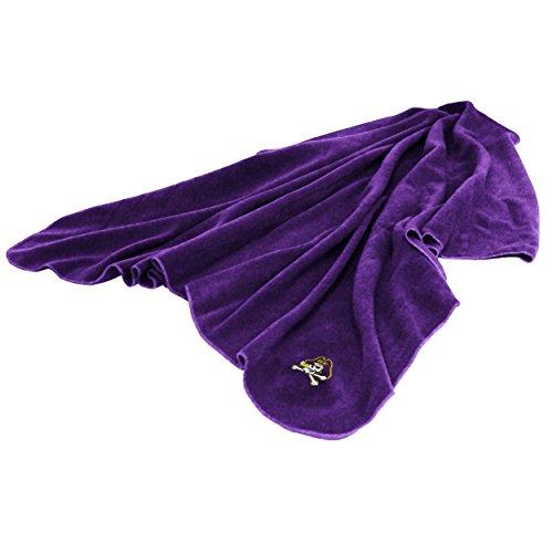 (Logo Brands 131-25H NCAA East Carolina Pirates Huddle Throw Blanket, Medium,)