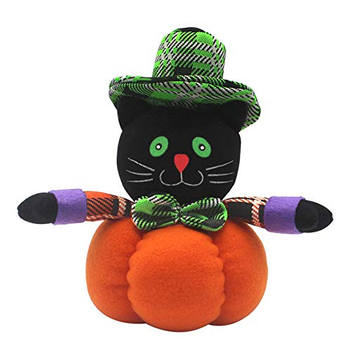Halloween Puppet Decorated Table Decoration Small Gift, Black Cat ()