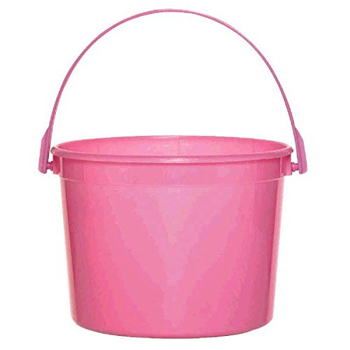 Plastic Bucket | Bright Pink | Party Accessory]()