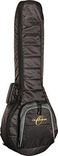 Oscar Schmidt Banjo 10mm Gig Bag, HD Nylon Shell, Storge Pocket, OSGBB10 by Oscar Schmidt