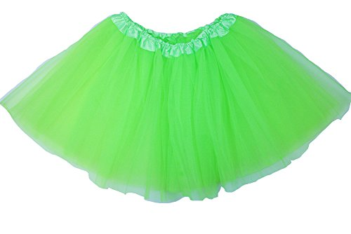 The Hair Bow Company Adult Basic Tulle Tutu Available in 3 Sizes Lime Green (Lime Tutu)