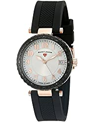 Swiss Legend Womens 16002SM-RG-02-BB Sea Breeze Analog Display Swiss Quartz Black Watch