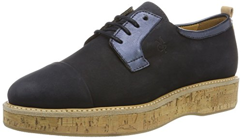 dark Zapatos Azul Blue Up Mujer 70113843401200 Lace O'polo Marc wT07BB