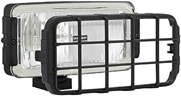 Halogen Fernscheinwerfer 12v 24v 180x86x76 Mit Schutzgitter Auto