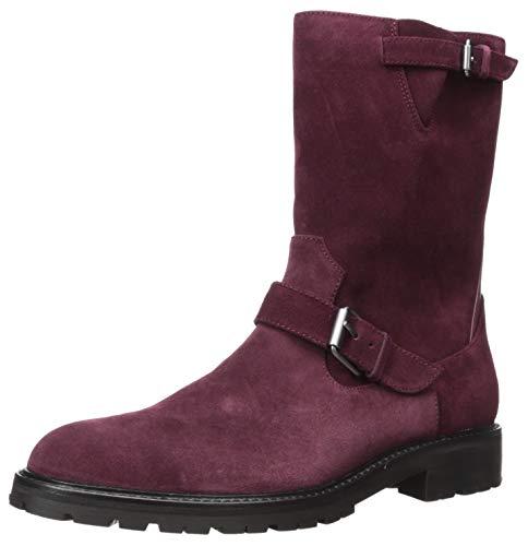 - Calvin Klein Men's UGILIO Mid Calf Boot, Dark Cranberry Suede, 8.5 M US