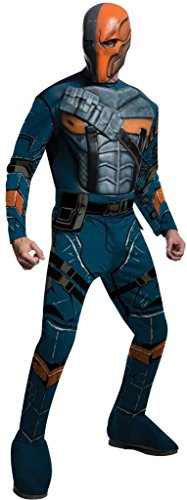 Deluxe Deathstroke Adult Costumes (Deluxe Deathstroke Costume - Medium - Chest Size 42)