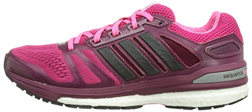 Sportive Black Running pink Pink 7 Adidas core buzz Pink Boost Rosa neon Donna Sequence Supernova Scarpe pWnqqRaFS