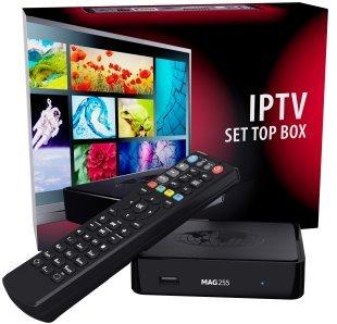 MAG 250 MICRO MPEG 4 HD IPTV set top box