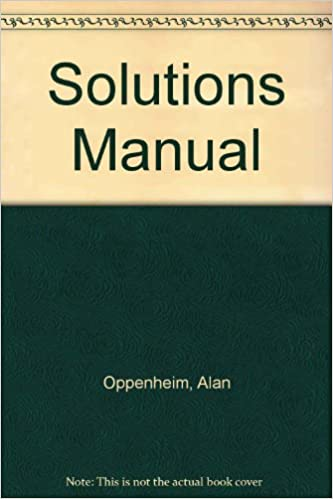 Solutions Manual Signals Systems 2nd Edition Alan