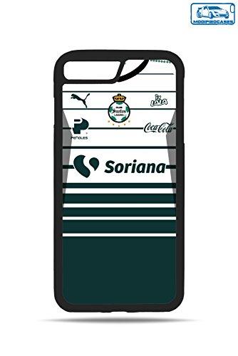 Santos Jersey Liga MX ModifiedCases Bumper Case Compatible with iPhone 7 Plus/8 Plus