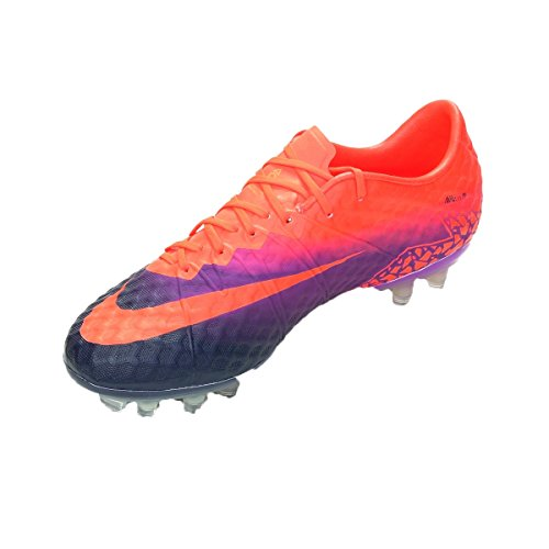 8d8855d13 Nike Men's HyperVenom Phinish FG Soccer Cleat (Sz. 8) Total Crimson, Vivid  Purple
