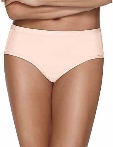 80e64846211a3 Hanes Womens Ultimate Cool Comfort Low Rise Brief (HXMFBF) -Buff Plum