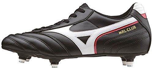 Mizuno Mrl Club Si, Botas de Fútbol para Hombre Nero (Black/White/Red)