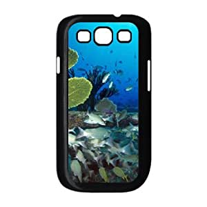 Customized Cover Case for Samsung Galaxy S3 I9300 (Underwater World CCW-37949)