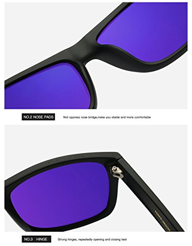 C1 UV Hombre C1 400 Protección De Mujer Sol para Polarizadas Aviator Gafas para 7wq0zw