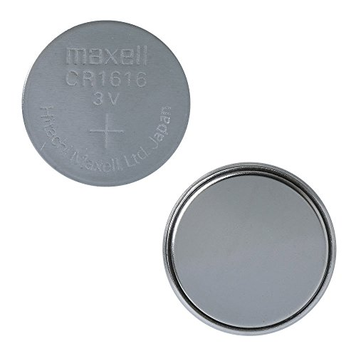 Maxell CR1616 3 Volt Lithium Coin Battery (3 Batteries)