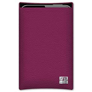 SIMON PIKECáscara Funda de móvi Boston 01 fucsia pour Huawei Ascend G730 cuero artificial