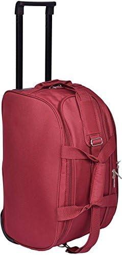 Safari PEP 55 RDFL BLACK DUFFEL TROLLEY BAG Duffel Strolley Bag