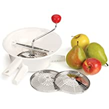RSVP VEG-3 Classic Rotary Food Mill with Stainless Steel Interchangeable Disks