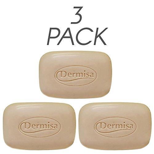 Oatmeal Dermisa Exfoliating (Dermisa Exfoliating Oatmeal Bar 3 Oz 3-pack)