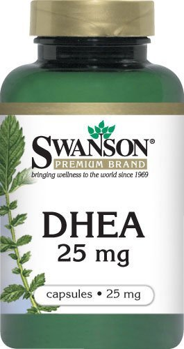 DHEA 25mg 3 Bouteilles 120 Capsules
