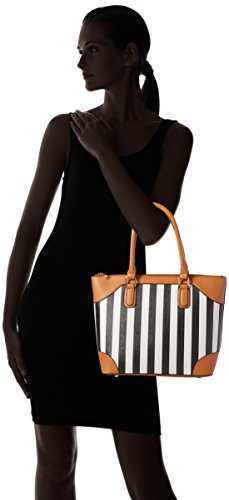Shopper Sb sp Sintético black 1018 Sansibar 1 Mujer Negro De Material 01 HIfCdnxR