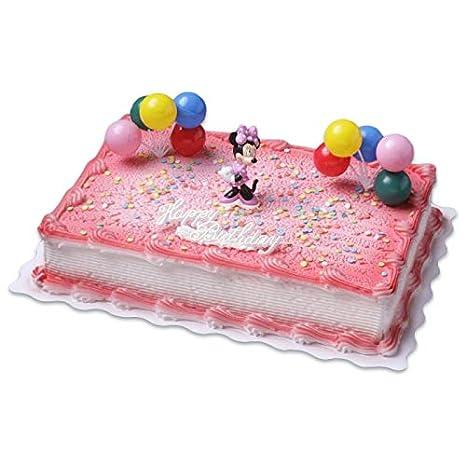 Cake Company Hochwertige Torten FigurMinnie Mouse Von Bullyland Mit Happy Birthday Schriftzug