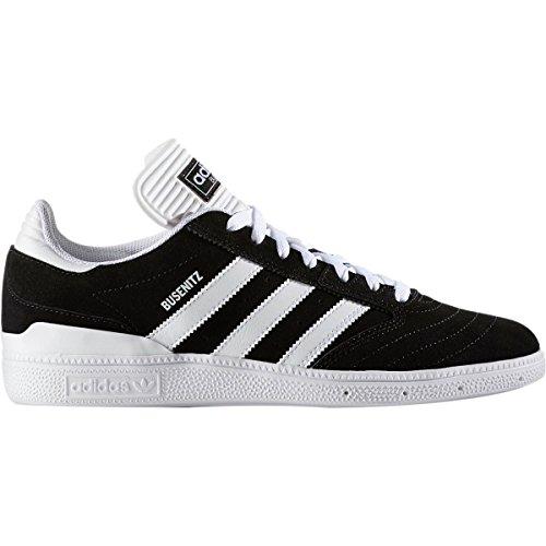 adidas Originals Mens Busenitz Fashion Sneaker Core Black/Footwear White/Footwear White