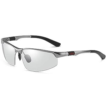 YIWU Gafas y Accesorios Cambio de Color Gafas de Sol Hombre ...