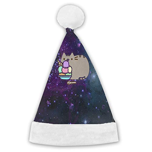 Christmas Hat Space Cats On Pinterest Customized Santa Hat Festive