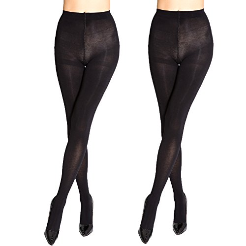 Womens Classic Opaque Microfiber Tights