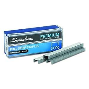 "Swingline Staples, S.F. 4, Premium, 1/4"" Length, 210 Per Strip, 5,000/Box (S7035450)"