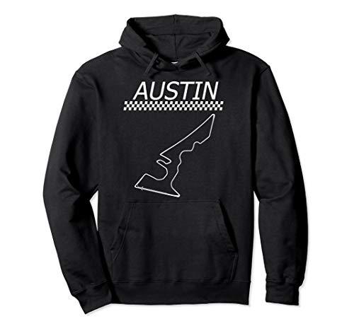 Race Track in Austin | Car Racing Circuit Fan Hoodie