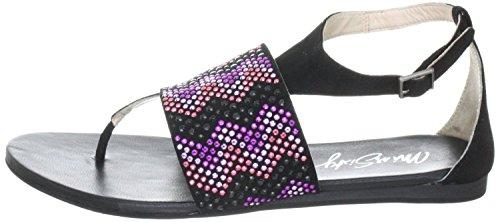 sandales noir cuir femme paM Noir sixty en Miss q01964 qA01twYH