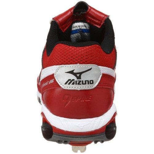 online store 6d52d 8a98c ... Mizuno Herren 9-Spike Classic G6 Low Switch Baseballschuh Rot-Weiss ...