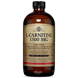 Solgar L-Carnitine Liquid, 1500 mg, 16 Ounce