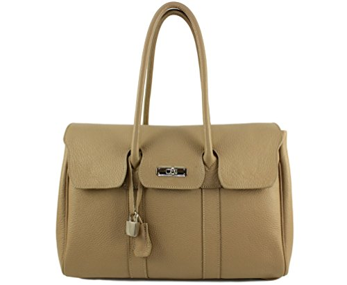 femme Sac main lily Plusieurs Lily lily cuir Coloris sac sac lily Taupe Clair cuir sac cuir sac lily cuir cuir main a à Italie femme tout PwFrqP