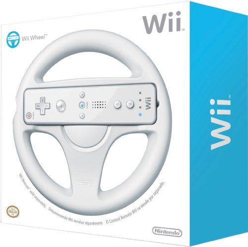 amazon com official nintendo wii wheel wii remote controller not