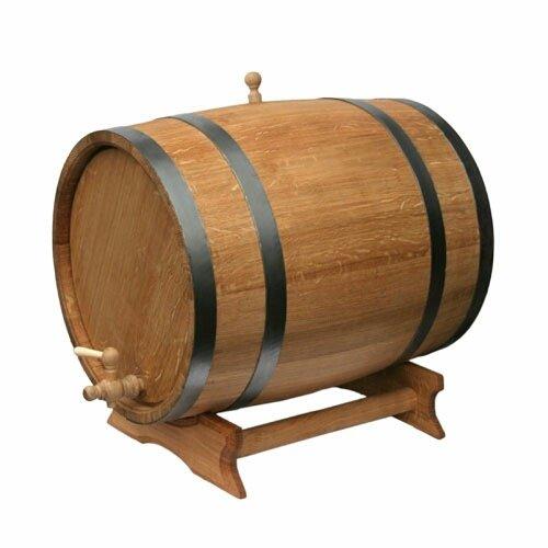 Eichenfass 20L Holz Schaft für Speicher oder Alterung Wein & Spirituosen
