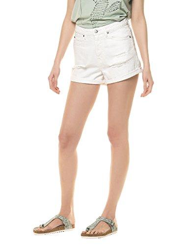 dr-denim-jeansmakers-womens-jenn-womens-white-shorts-in-size-28-white
