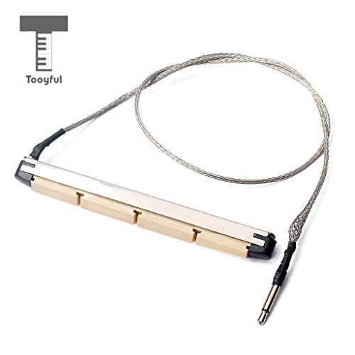 - Sala-Fnt - Under Saddle Transducer Pickup Imported Piezo Electric Bar Folk Acoustic Sticks for 4 String Acoustic Bass Guitar Parts