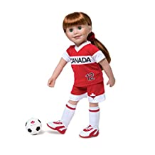 Maplelea Play On! Soccer Gear for 18 Inch Dolls