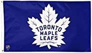 NHL Toronto Maple Leafs Banner Flag 3-Foot by 5-Foot, Coated Nylon Blue
