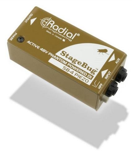 Box Di Active (Radial StageBug SB-4 Piezo DI)